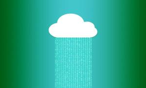 Zu sehen ist die grafische Darstellung einer Wolke, in die eine Zahlenkombination hochgeladen wird. Bild: Pixabay/Pete Linforth