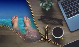 Entspannung und Auszeit dank Urlaubsplanung und Urlaubsvertretung