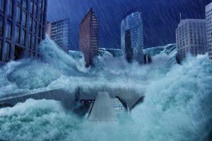 Überflutung durch DDoS-Attacken