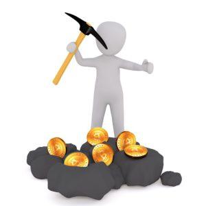 Beim Cryptomining wird nach einer Kryptowährung wie Bitcoin geschürft. (Bild: pixabay.com/3dman_eu)