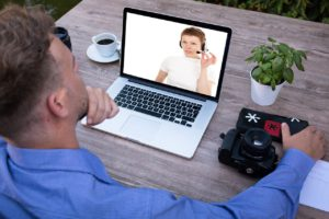 Skype Bewerbungsgespräch
