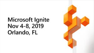 Das Bild zeigt das Logo der diesjährigen Microsoft Ignite. Ein Thema: Die Hybrid-Lösung Azure Stack HCI – eine Kombination aus On-Premise und Cloud. Bild: Microsoft