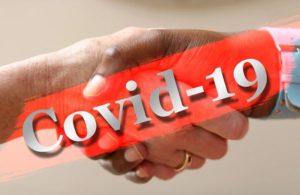 coronavirus hände schütteln