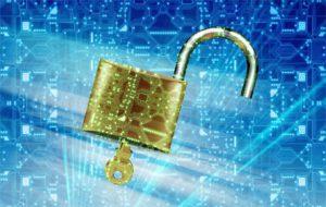 Zu sehen ist ein mit einem Schlüssel geöffneten Schloss, das Daten schützt. Es geht um ein Datensicherungskonzept. Bild: Pixabay/Jan Alexander