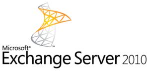 Das Bild zeigt das Logo von Microsoft Exchange 2010. Wie lange kann man Exchange 2010 noch nutzen? Bild: Microsoft