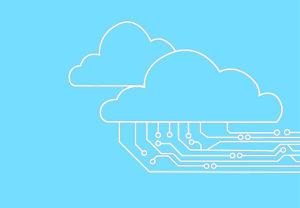 Zu sehen ist die Grafik einer Cloud mit verschiedenen Verbindungen, die exemplarisch für die Datenbank-Migration stehen können. Bild: Pixabay/Ranjith Siji