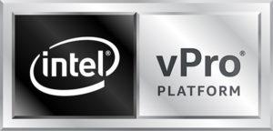 Zu sehen ist das Logo der Intel vPro® Plattform, die beim Projekt Schule digitalisieren unterstützt. Bild: Intel