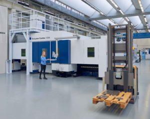 Zu sehen ist ein Blick in der Smart Factory der TRUMPF Group in Ditzingen. Die 6G-Entwicklung kann hier zu einem noch größeren technologischen Fortschritt führen. Bild: TRUMPF Group