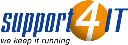 Logo Support-4-IT GmbH